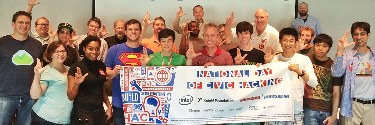 Louisville's National Day of Civic Hacking Event 2014 feature image